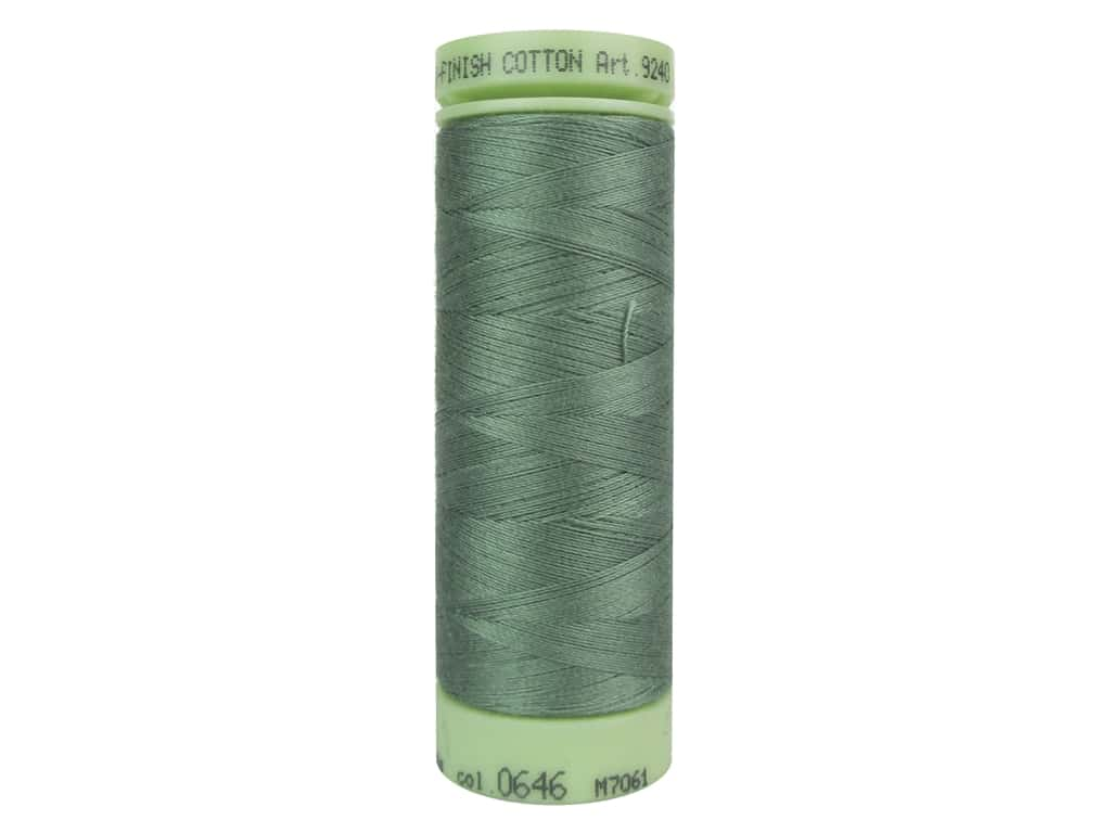 Mettler Silk Finish Cotton Thread 60 wt. 220 yd. #0646 Palm Leaf