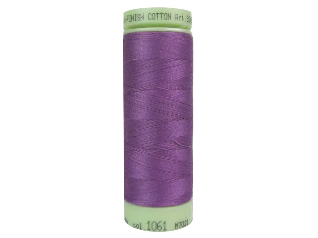 Mettler Silk Finish Cotton Thread 60 wt. 220 yd. #1061 Byzantium