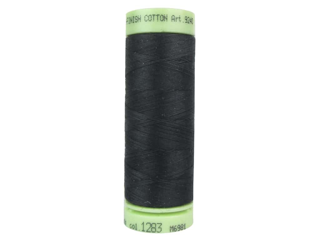 Mettler Silk Finish Cotton Thread 60 wt. 220 yd. #1283 Deep Well