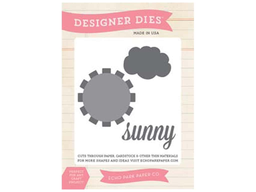 Echo Park Sunny Days Ahead Collection Die Sunny Day