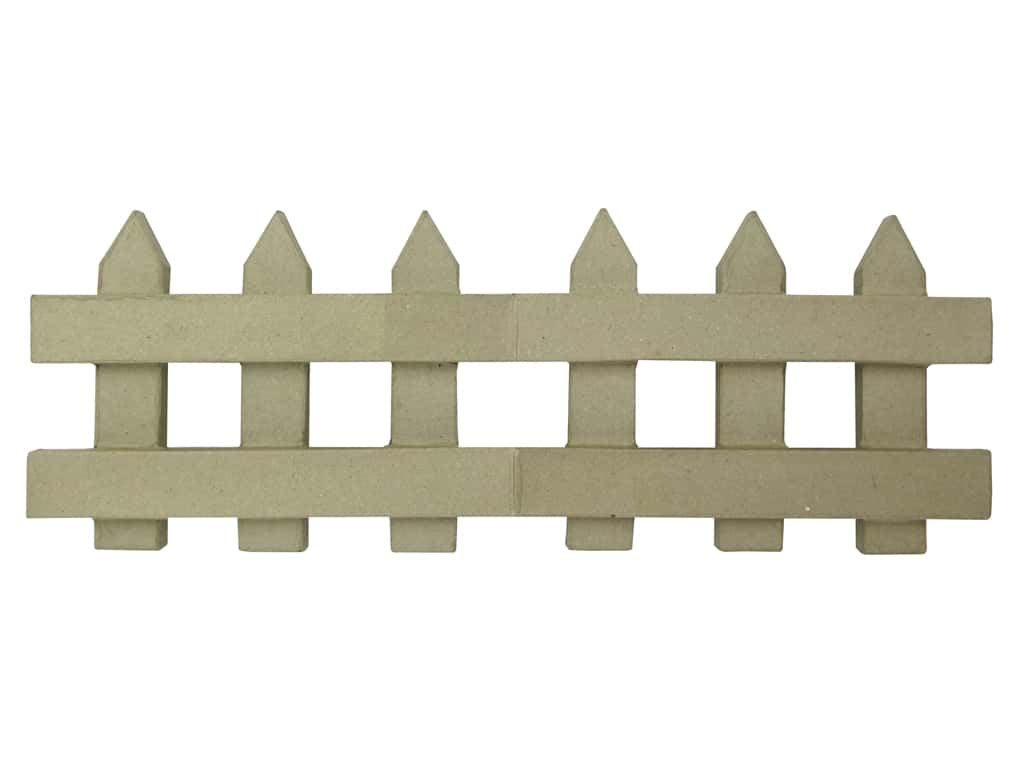 PA Paper Mache Folding Fence 18 in.