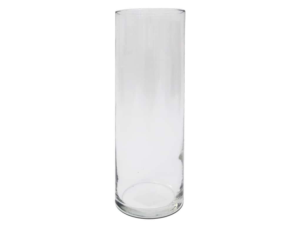 Crisa by Libbey Glass Cylinder Vase 10 in. (6 pieces)