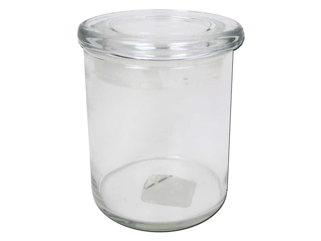 Crisa by Libbey Glass Cylinder Jar 4 3/4 in.