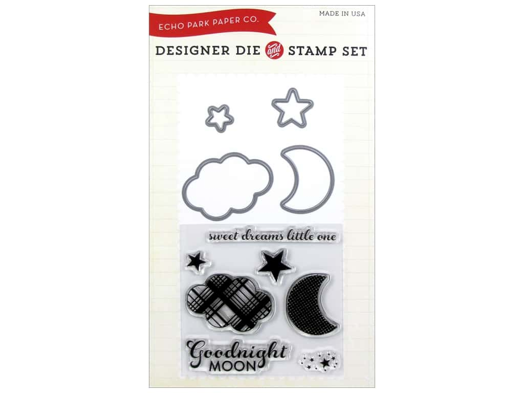 Echo Park Bundle of Joy Boy Collection Die/Stamp Goodnight Moon