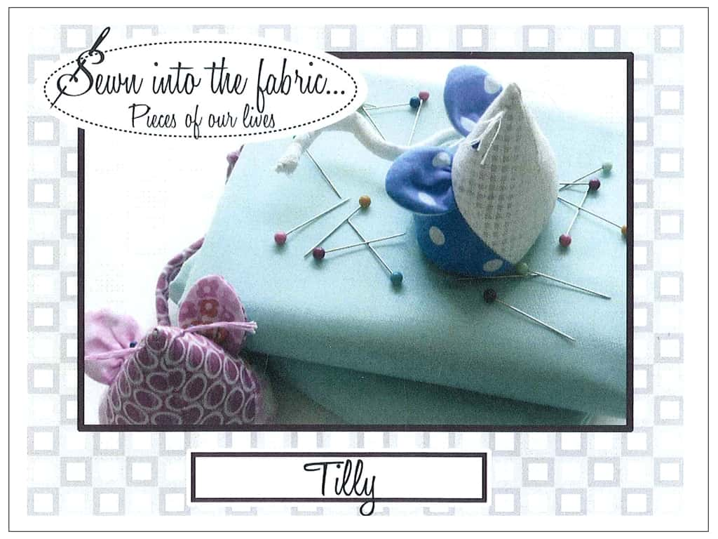 Sewn Into The Fabric Tilly Pincushion Pattern