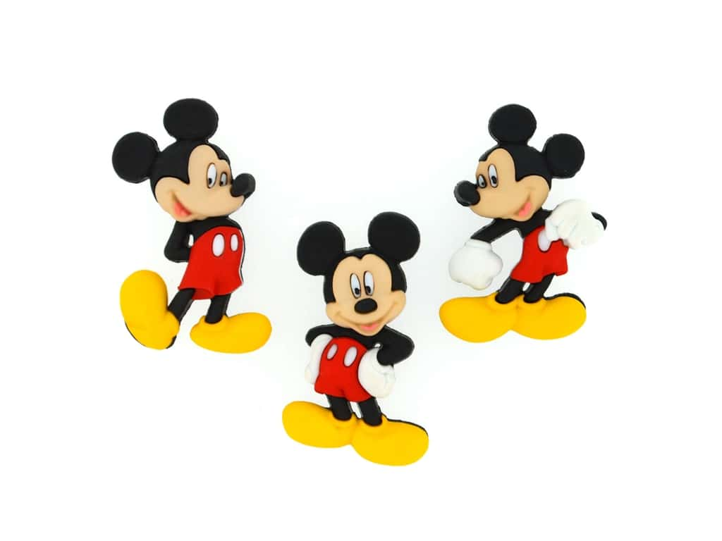 Jesse James Embellishments - Disney Mickey Mouse