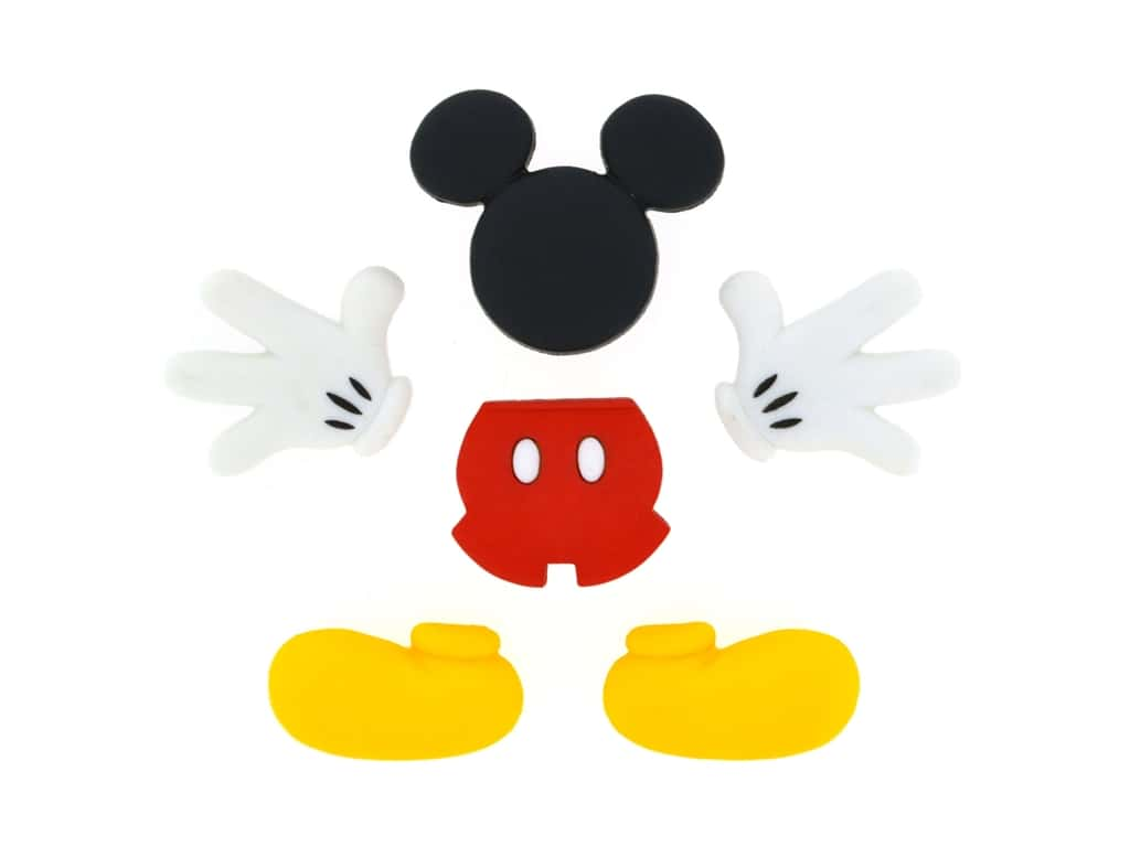 Jesse James Embellishments - Disney Everything Mickey