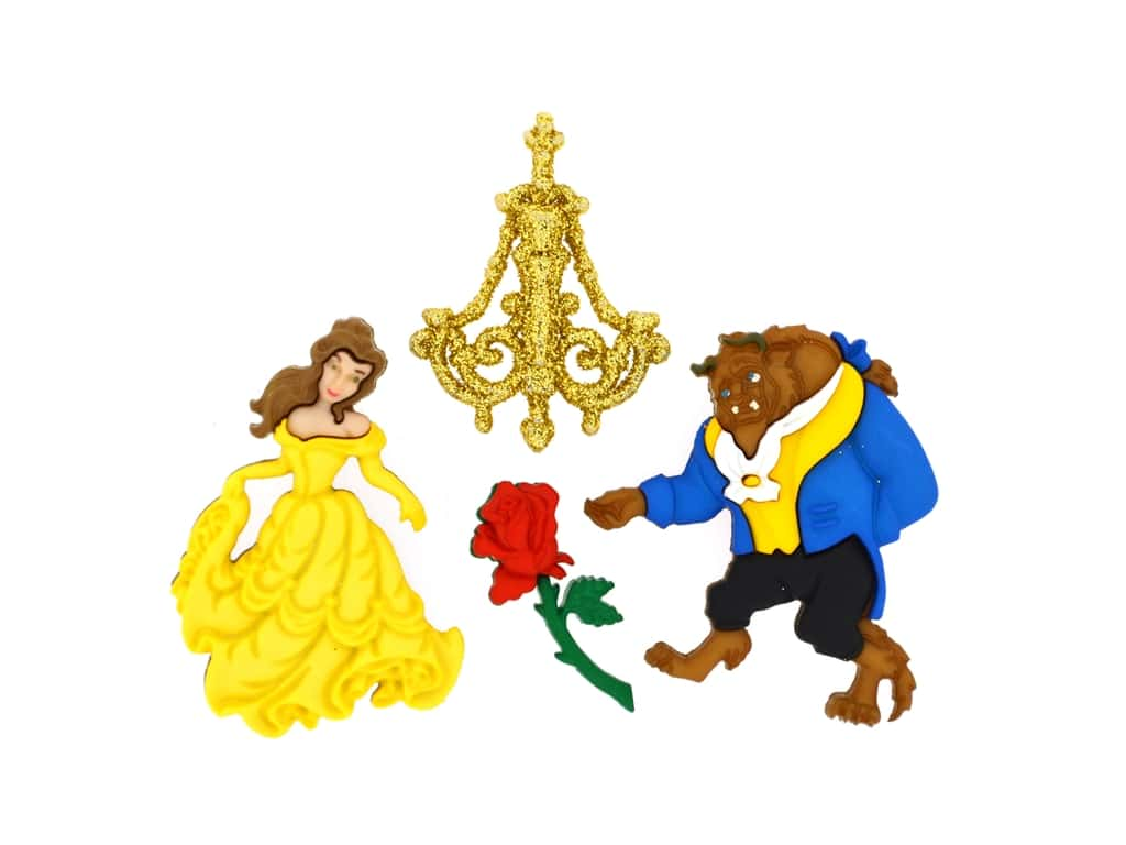 Jesse James Dress It Up Embellishments Disney Beauty & The Beast