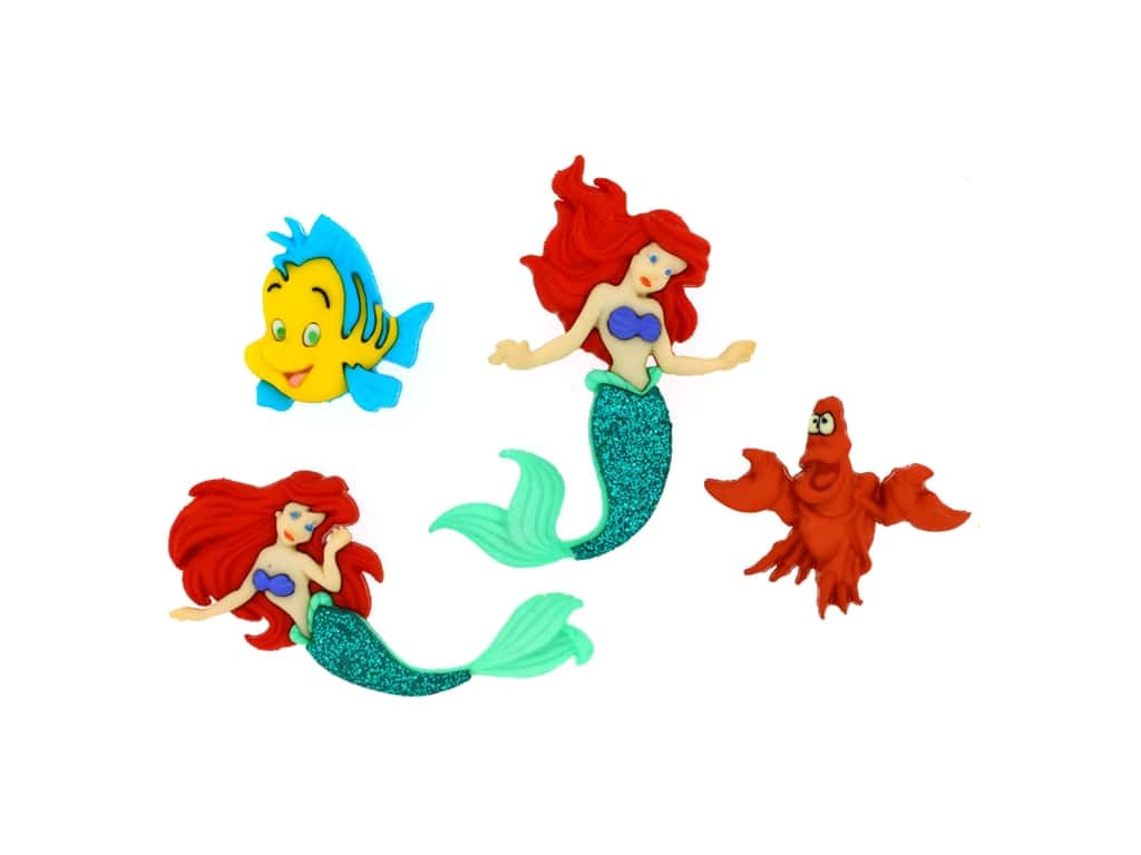 Jesse James Embellishments - Disney The Little Mermaid