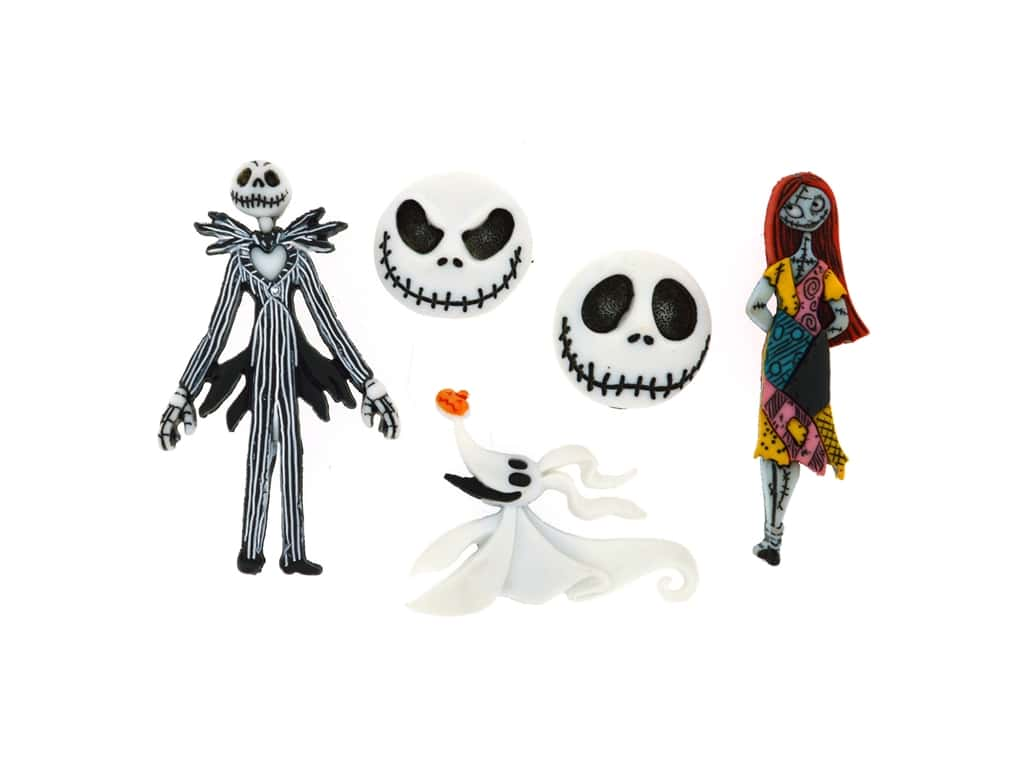 Jesse James Dress It Up Embellishments Disney Nightmare Before Christmas