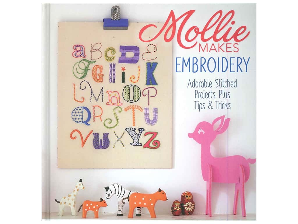 Interweave Press Mollie Makes Embroidery Book
