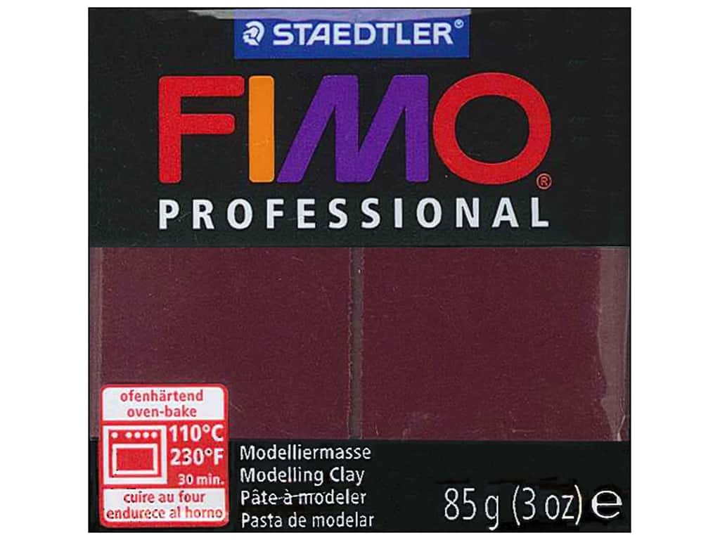 Fimo Professional Clay 3 oz. Bordeaux