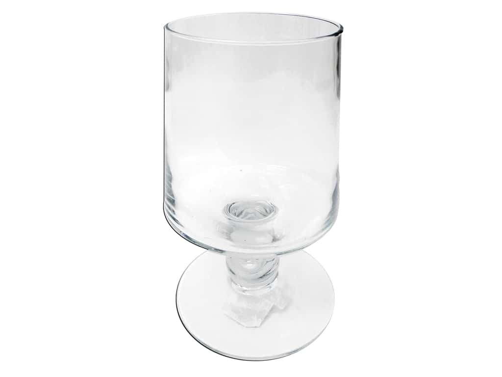 Crisa by Libbey Glass Harbor Pillar 11 in. (2 pieces)