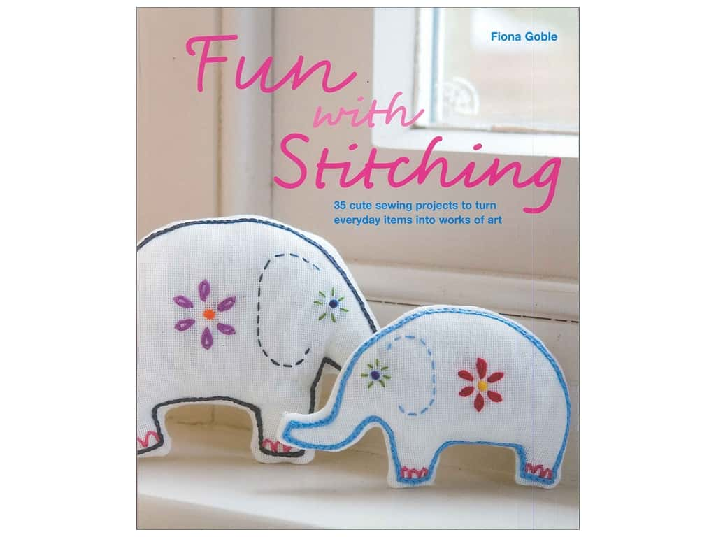 New Holland Fun With Stitching Book