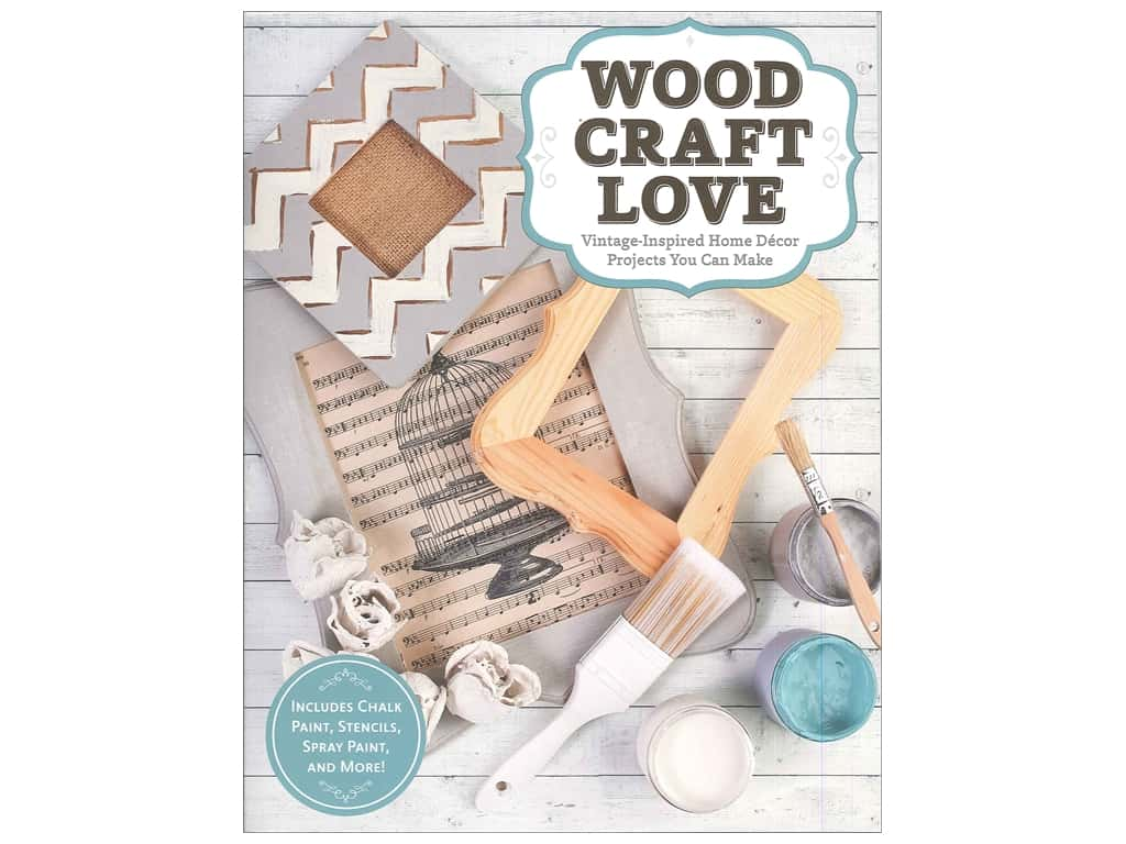 Design Originals Wood Craft Love Book