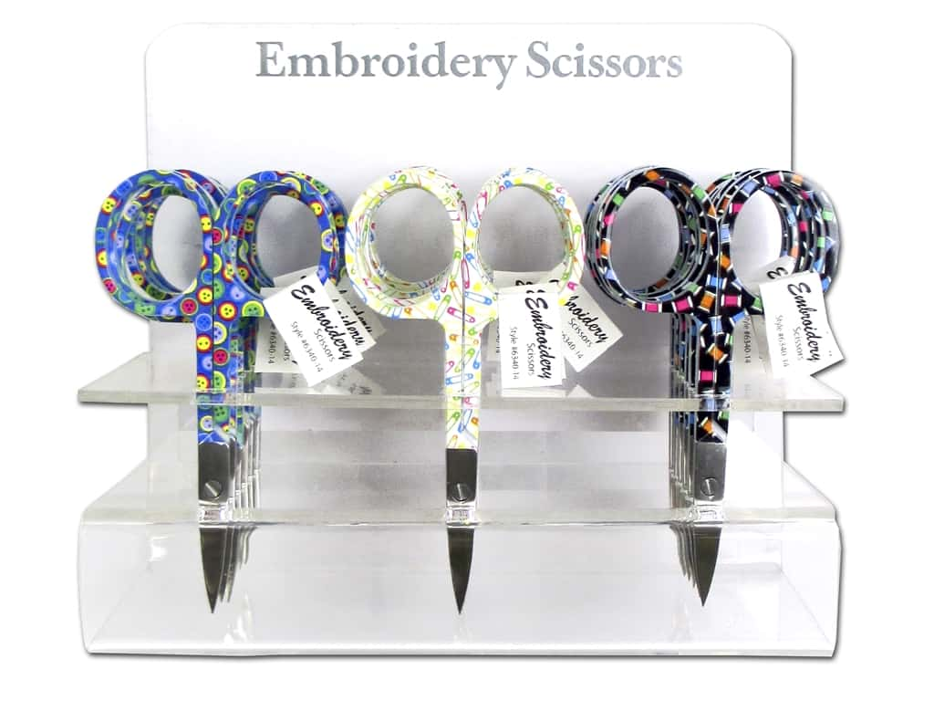Allary Embroidery Scissors - Sewing Theme 18 pc. (18 pieces)