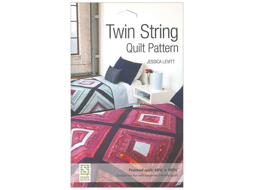 Stash By C&T Twin String Quilt Pattern