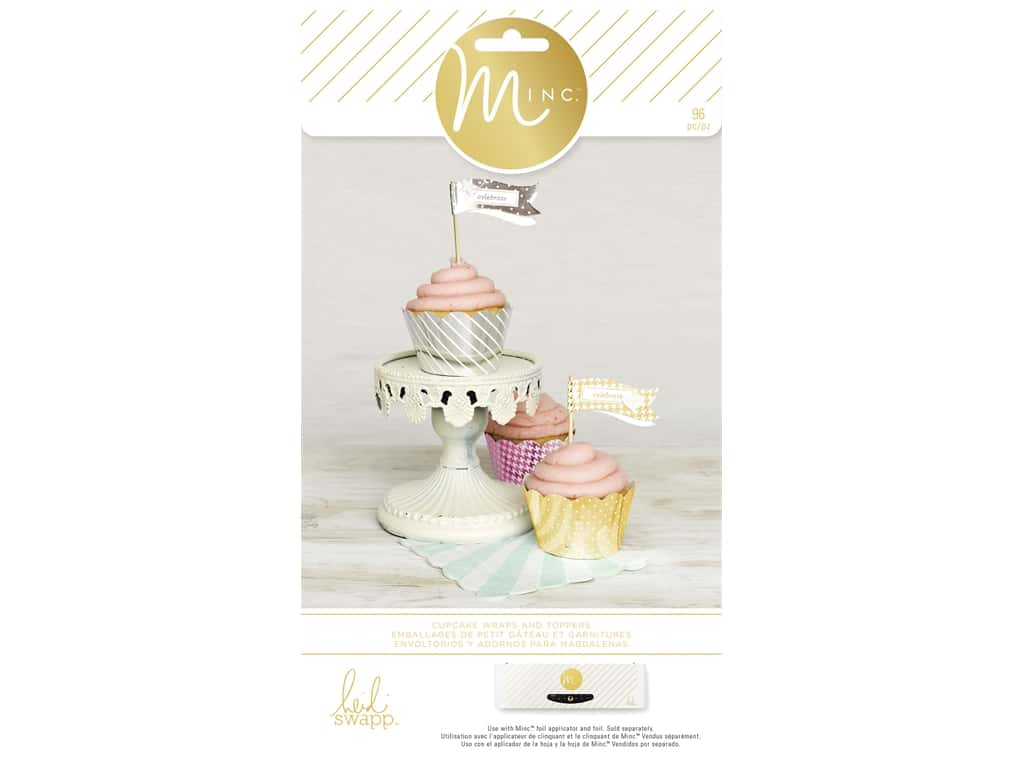 Heidi Swapp Minc Cupcake Wrappers and Toppers