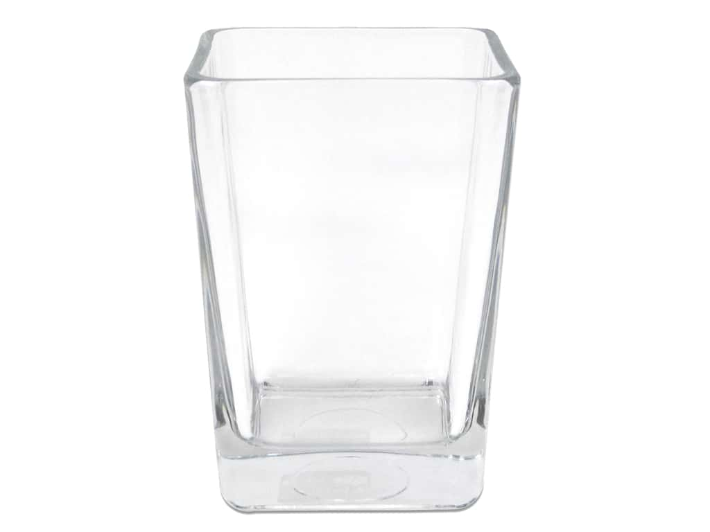 Crisa by Libbey Glass Keystone Vase 6 in. (4 pieces)