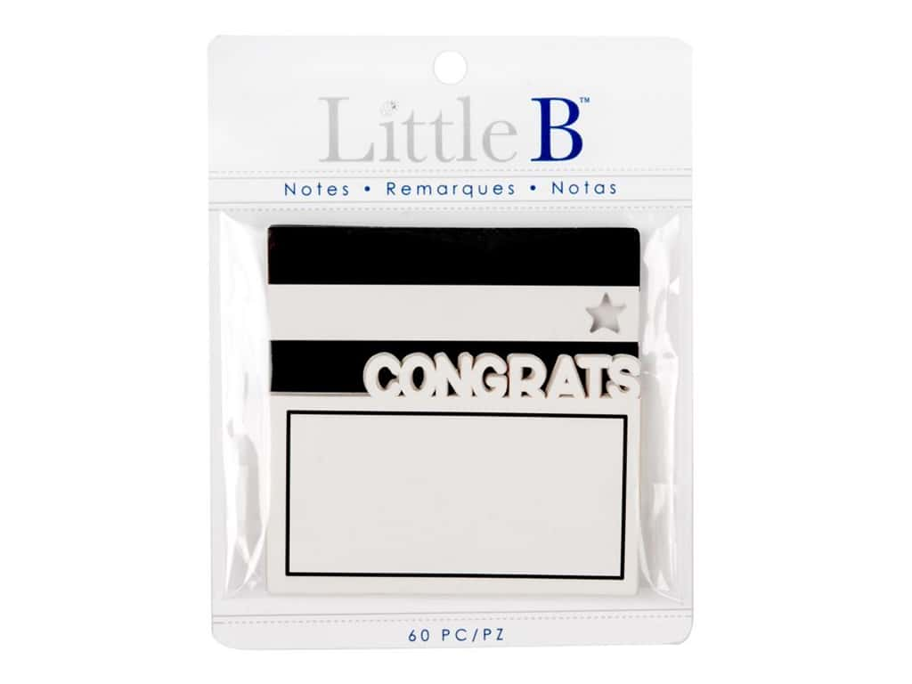 Little B Paper Adhesive Notes Congrats