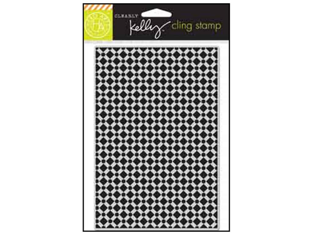 Hero Arts Cling Stamp Kelly's Background Tile