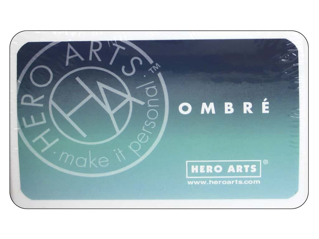 Hero Arts Ink Pad Ombre Pool/Navy