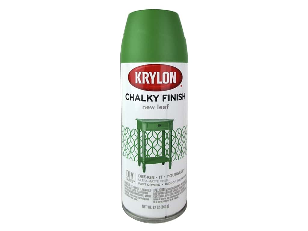 Krylon Chalky Finish Paint 12 oz. New Leaf