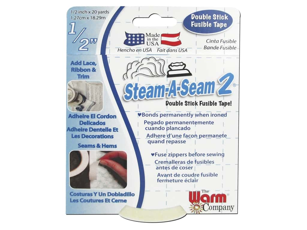 The Warm Company Steam-A-Seam 2 Fusible Web 1/2 in. Tape