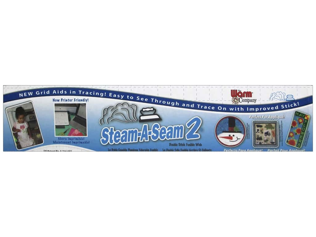 The Warm Company Steam-A-Seam 2 Fusible Web 24 in. (25 yards)