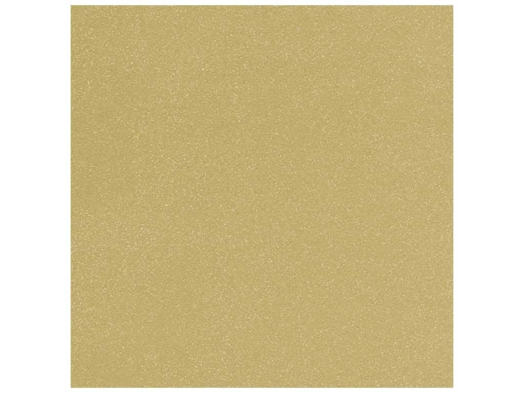 Doodlebug 12 x 12 in. Paper Sugar Coated Gold (25 sheets)