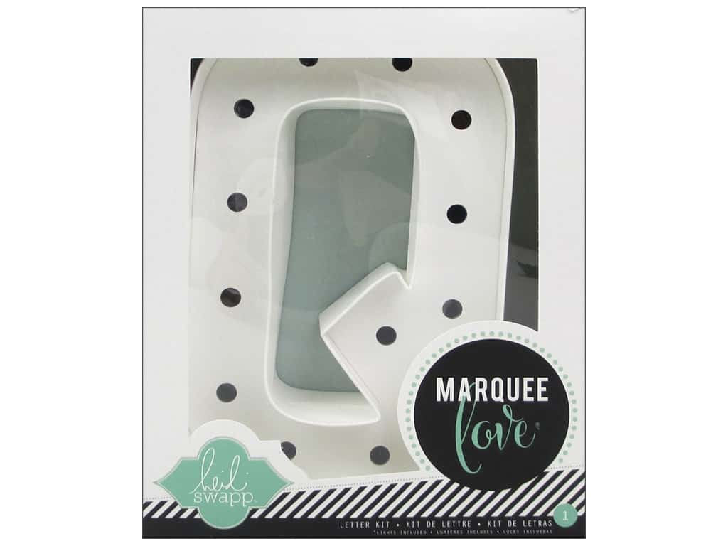 "Heidi Swapp Marquee Love Letter Kit 8 1/2 in. ""Q"""