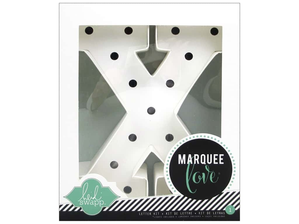 "Heidi Swapp Marquee Love Letter Kit 8 1/2 in. ""X"""