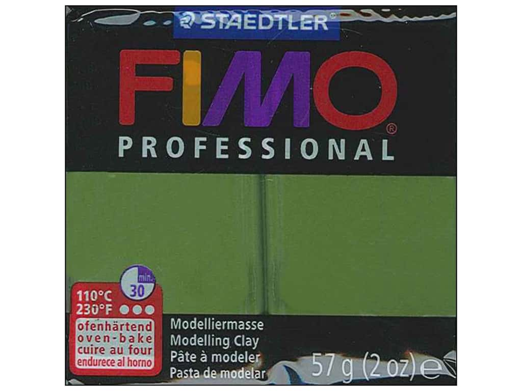 Fimo Professional Clay 2 oz. Leaf Green