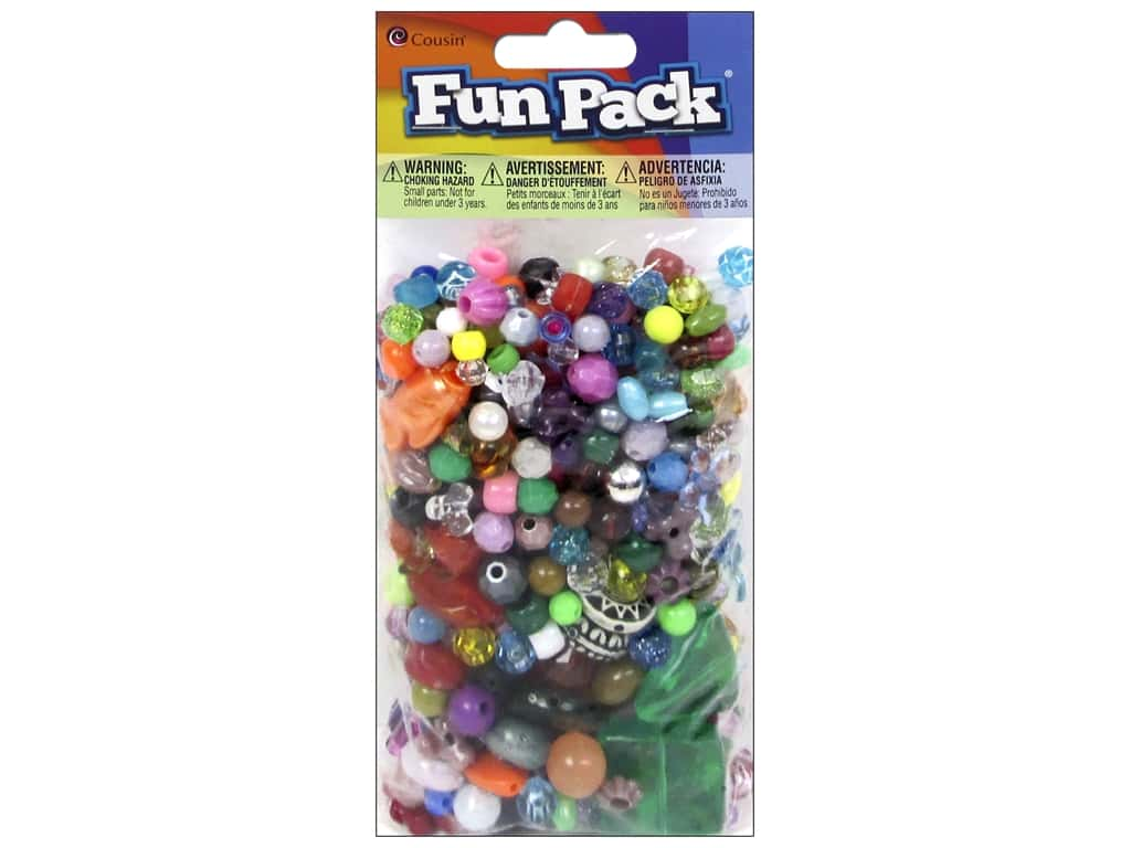 Cousin Fun Pack Bead Mix 6 oz.