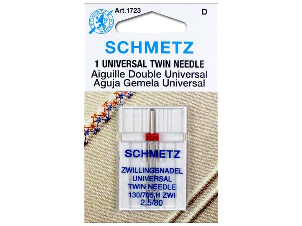 Schmetz Universal Needle Twin Size 80/2.5 1 pc