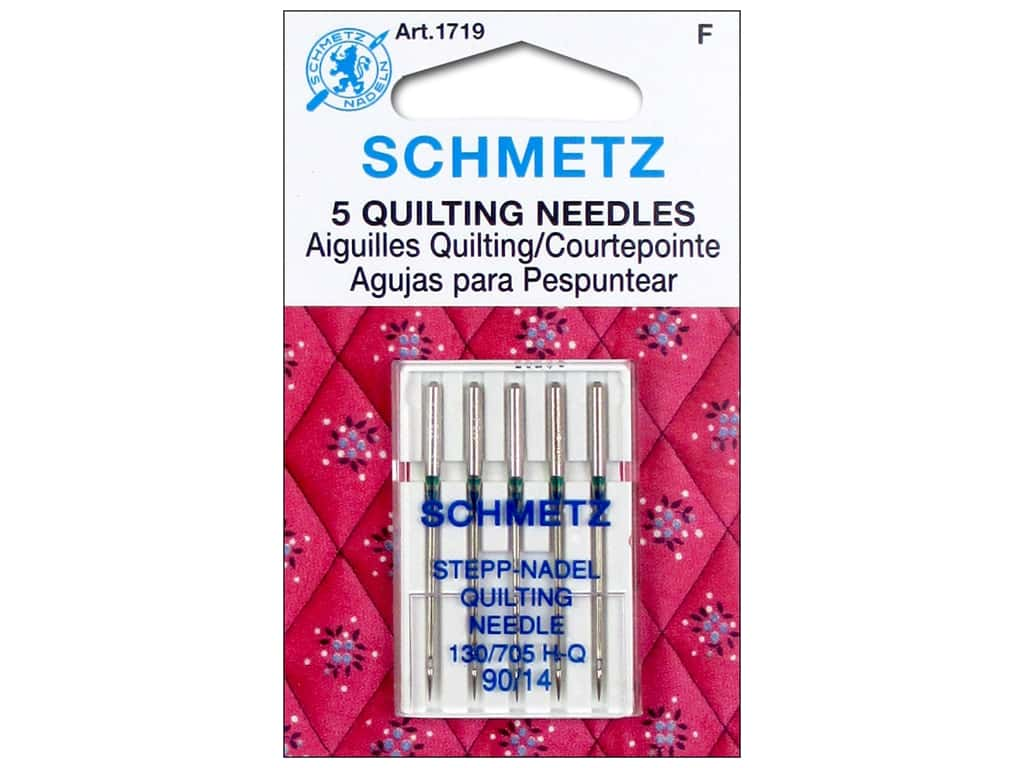 Schmetz Quilting Needle Size 90/14 5 pc