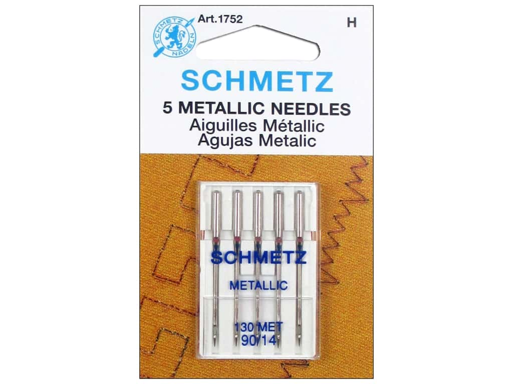 Schmetz Metallic Needle Size 90/14 5 pc