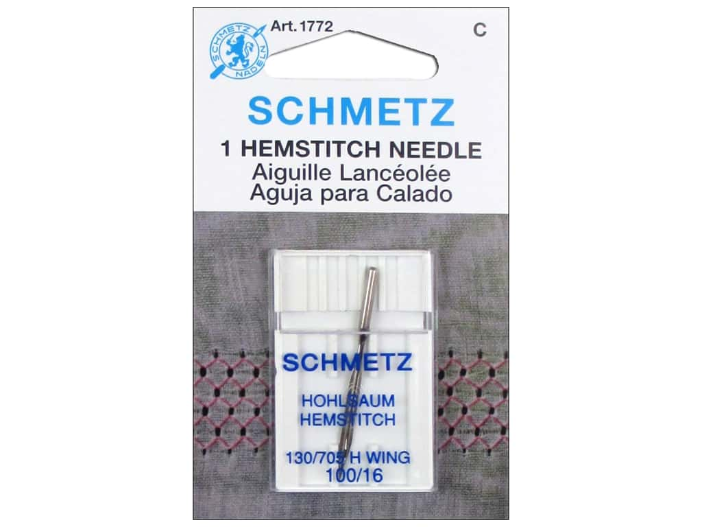 Schmetz Hemstitch Needle Size 100/16 1 pc