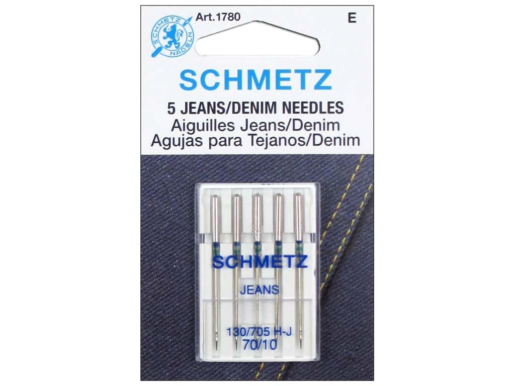 Schmetz Jean Needle Size 70/10 5 pc