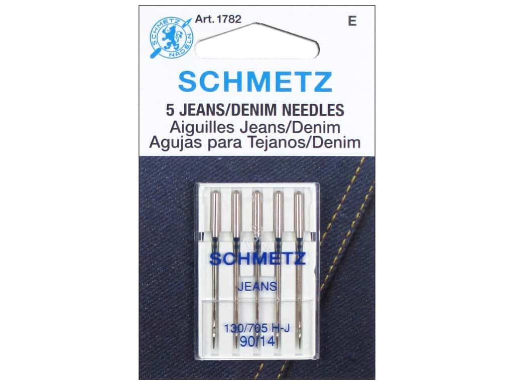 Schmetz Jean Needle Size 90/14 5 pc