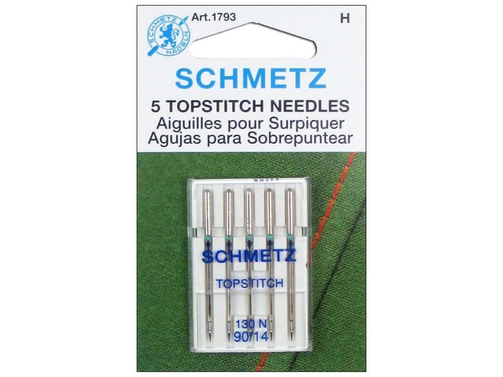 Schmetz Topstitch Needle Size 90/14 5 pc