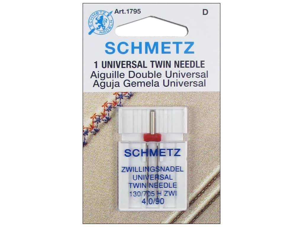 Schmetz Universal Needle Twin Size 90/4.0 1 pc