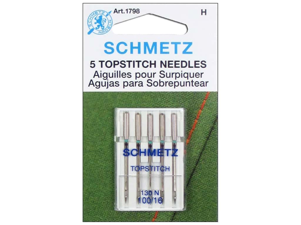Schmetz Topstitch Needle Size 100/16 5 pc