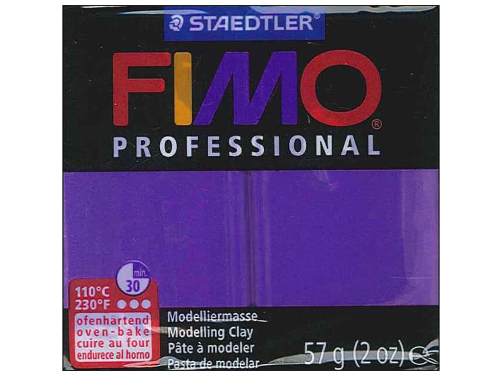 Fimo Professional Clay 2 oz. Purple