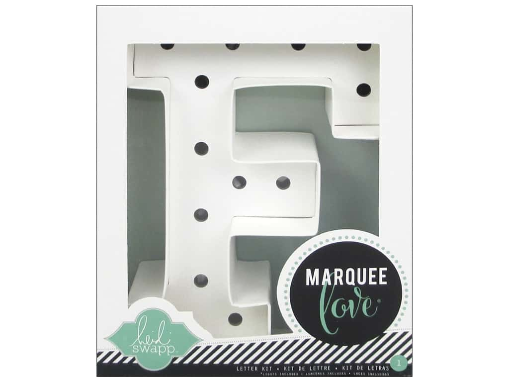 "Heidi Swapp Marquee Love Letter Kit 8 1/2 in. ""F"""