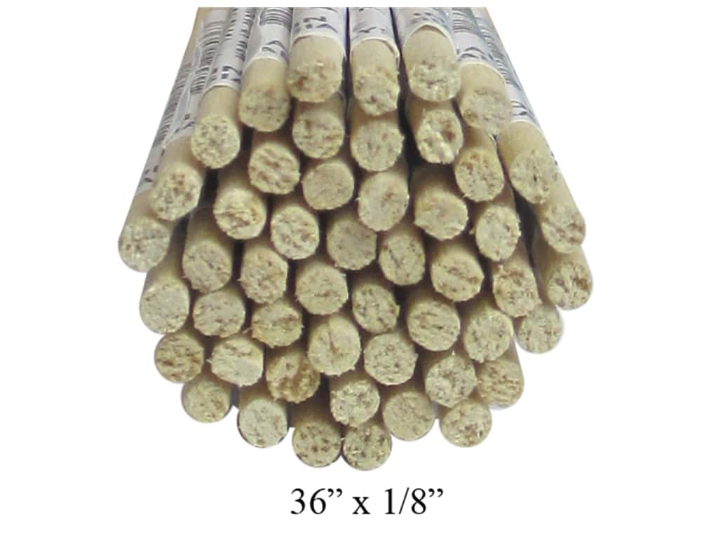 Wood Dowels 36 x 1/8 in. (50 pieces)