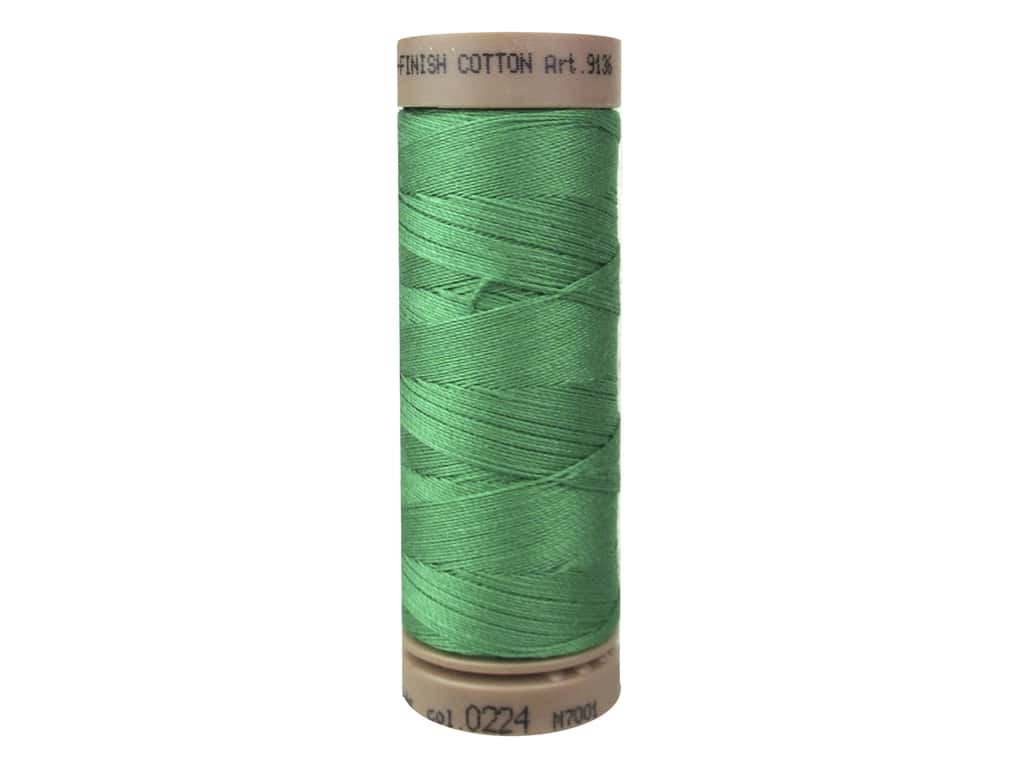 Mettler Silk Finish Cotton Thread 40 wt. 164 yd. #0224 Kelley