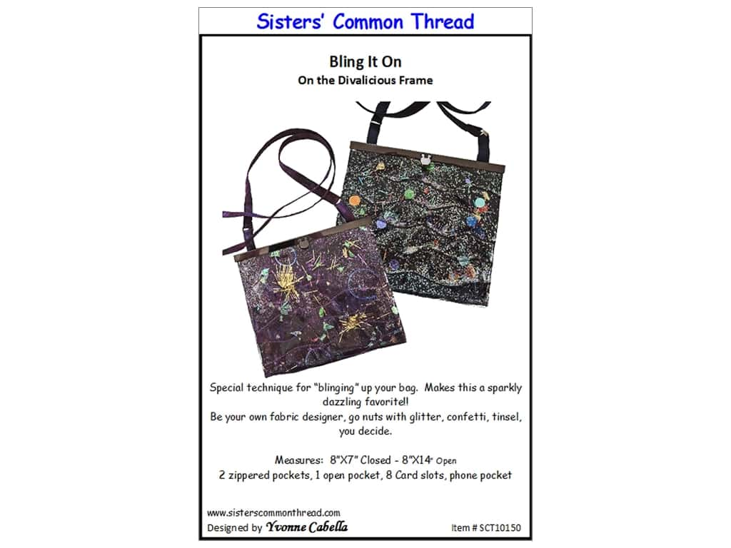 Sisters' Common Thread Bling It On Pattern
