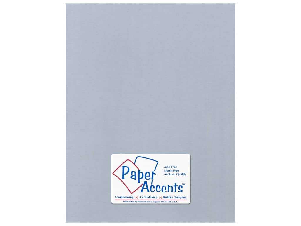 Paper Accents Cardstock 8 1/2 x 11 in. #5101015 Canvas Dovetail 25 pc.