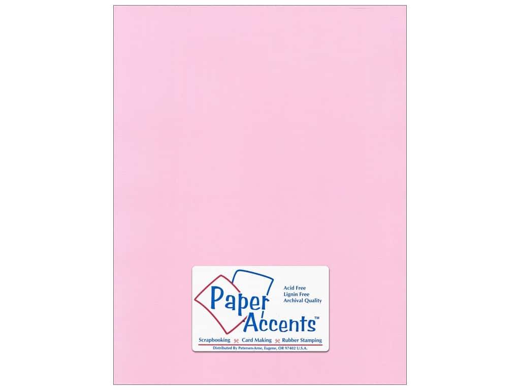 Paper Accents Cardstock 8 1/2 x 11 in. #51110 Canvas Sweetie Pie 25 pc.